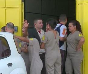 Falha em sistema de segurança provoca desabamento em empresa.(Imagem:Cidadeverde.com)