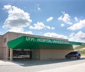 Hospital Universitário da Universidade Federal do Piauí (Ufpi)(Imagem:Divulgação)