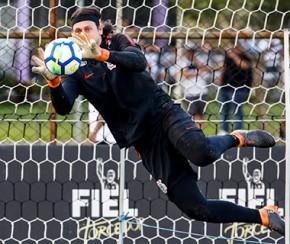 Cássio revela papo com Taffarel na seleção brasileira.(Imagem:Gazeta Esportiva)