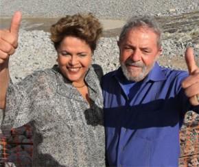 Lula e a da ex-presidente Dilma Rousseff(Imagem:Divulgação)