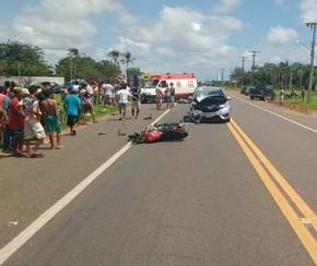 Mococlista morreu na manhã de terça-feira em Parnaíba.(Imagem:PRF)