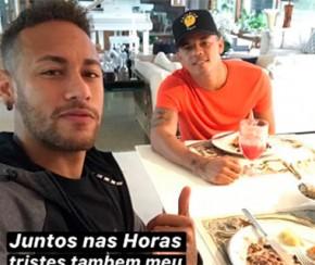 Sumido após Copa, Neymar