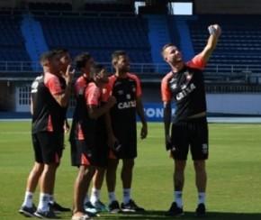 Técnico vê Sul-Americana como chance de consolidar grandeza do Atlético-PR.(Imagem:Miguel Locatelli)