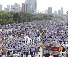 Bando rende equipe da Caminhada da Fraternidade e rouba cerca de R$ 25 mil.(Imagem:CidadeVerde.com)