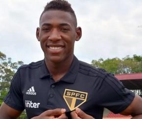 Ex-Bahia, lateral Léo é contratado pelo São Paulo para 2019.(Imagem:Divulgação)