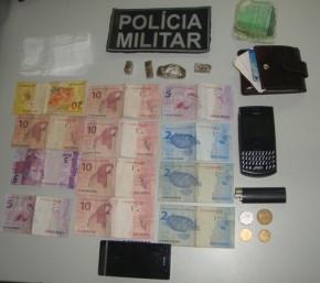 Polícia prende casal por trafico de drogas em Floriano.(Imagem:Jc24horas)