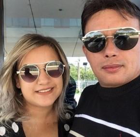 Paulynho Paixão e Tayanne Costa.(Imagem:Arquivo Pessoal)