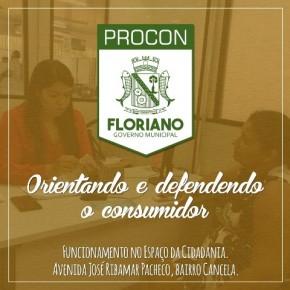 Procon de Floriano realiza 75 atendimentos no primeiro mês de atuação em sede própria.(Imagem:Divulgação)
