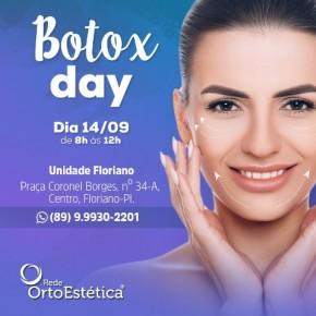 Rede OrtoEstética realiza Botox Day em Floriano.(Imagem:Divulgação)