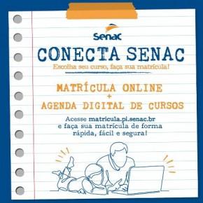 Senac Piauí Lança Agenda Digital de Cursos.(Imagem:Divulgação)