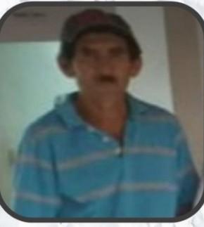 Vicente Alves de Sousa, vítima de acidente.(Imagem:Reprodução)