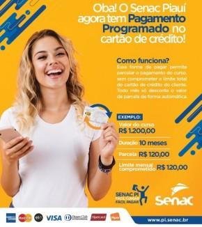 Senac de Floriano lança programa de