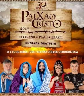 Conheça o elenco convidado da Paixão de Cristo 2017 em Floriano.(Imagem:Divulgação)