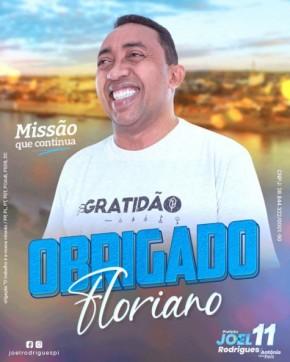 Prefeito Joel Rodrigues é reeleito em Floriano(Imagem:FlorianoNews)