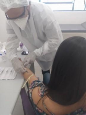 Secretaria de Saúde de Floriano inicia testagem das equipes da Atenção Primária.(Imagem:Secom)