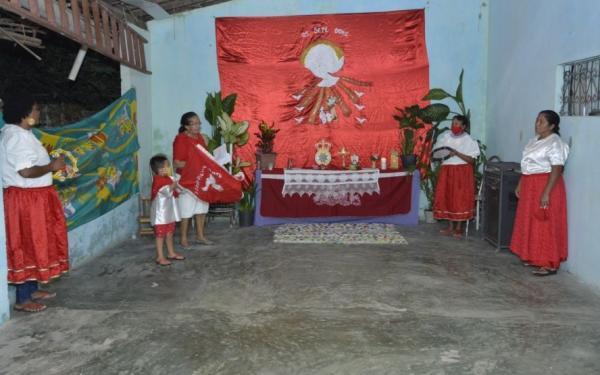 Floriano mantém a tradição cultural/religiosa do Divino Espírito Santo.(Imagem:Secom)