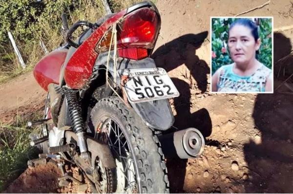 Mulher morre e filho fica gravemente ferido após acidente de moto na PI-231(Imagem:Reprodução)
