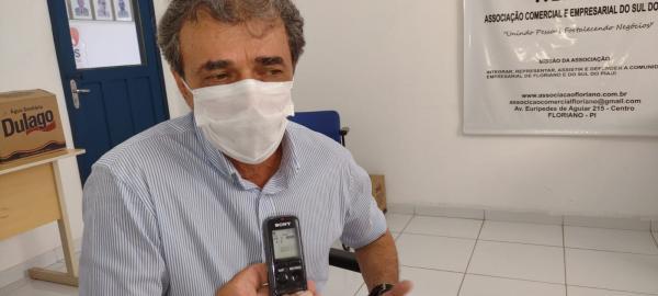 Antônio Brandão, vice-presidente do MOVE(Imagem:FlorianoNews)