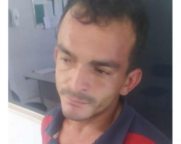 Benilton Gonçalves, preso por furto.(Imagem:Reprodução)