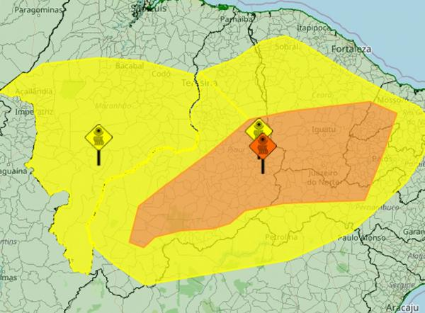 Piauí tem alerta de baixa umidade no ar, risco de incêndios florestais e à saúde(Imagem:Reprodução)