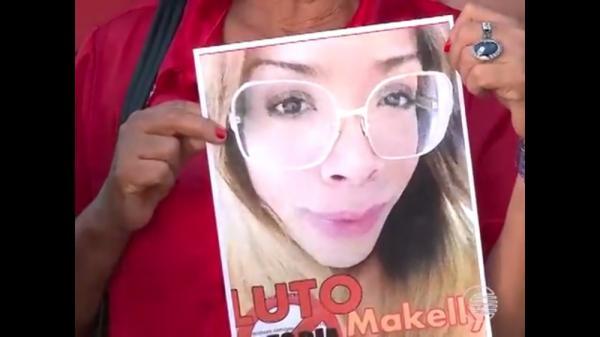 Travesti Makelly Castro morreu asfixiada na Zona Sul de Teresina.(Imagem:Reprodução/Tv Clube)