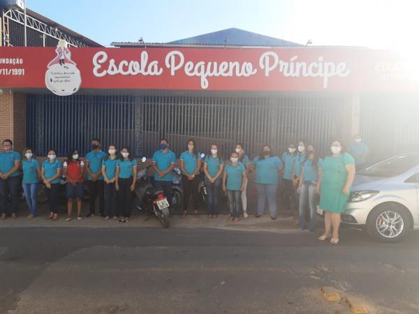 Escola Pequeno Príncipe comemora 29 anos de existência em Floriano.(Imagem:Divulgação)
