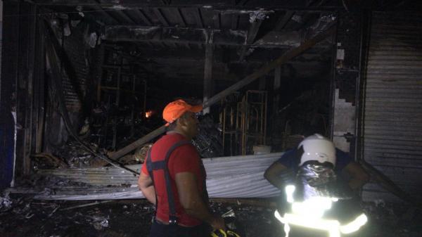 Após o incêndio(Imagem:FlorianoNews)