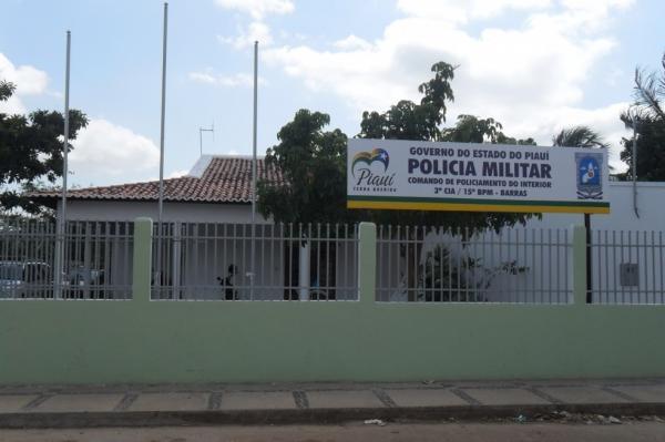 15º Batalhão da Polícia Militar em Barras, Piauí.(Imagem:Divulgação/PM)