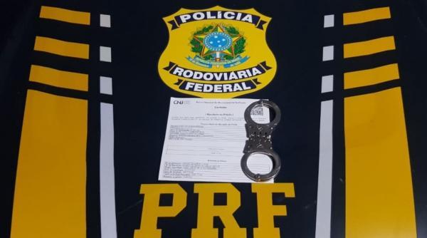Homem condenado por Estupro de Vulnerável é preso pela PRF(Imagem:Reprodução)