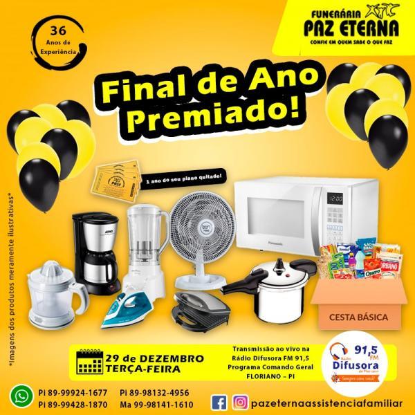 Final de Ano Premiado(Imagem:Divulgação)