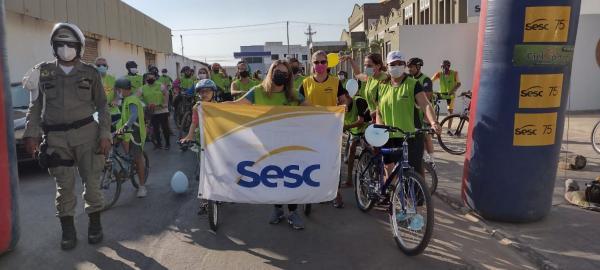 CicloSesc foi realizado neste domingo em Floriano(Imagem:FlorianoNews)