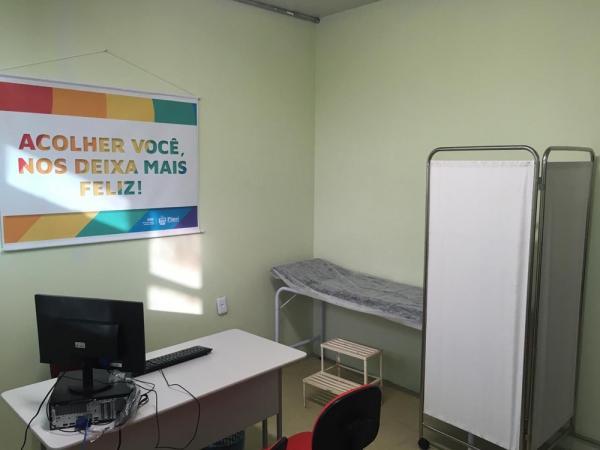 Espaço fica dentro do Hospital Getúlio Vargas, no Centro de Teresina.(Imagem:Murilo Lucena/TV Clube)