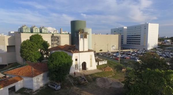 Capela do Sanatório Meduna, em Teresina.(Imagem: TV Clube)