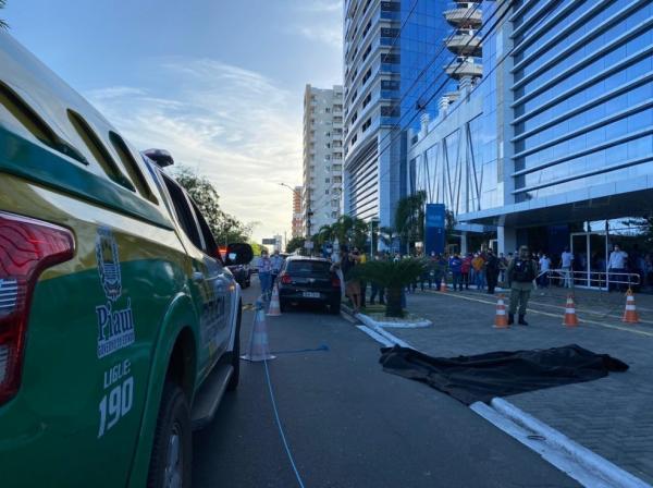 Corpo de Firmino Filho foi encontrado no prédio onde funciona o Tribunal de Contas da União (TCU).(Imagem:Anielle Brandão/TV Clube)