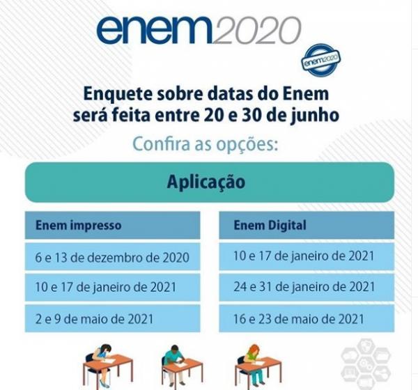 Enquete Enem(Imagem:Reprodução)