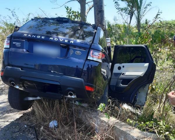 Homem morre e três pessoas ficam feridas em colisão entre carro e caminhão na BR-343(Imagem:Reprodução)