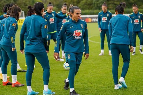 Com covid-19, Marta é cortada da seleção brasileira para amistosos contra Equador(Imagem:Daniela Porcelli/CBF)