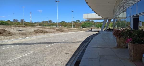 Aeroporto no Piauí é preparado para receber Jair Bolsonaro e sua comitiva(Imagem:Reprodução)