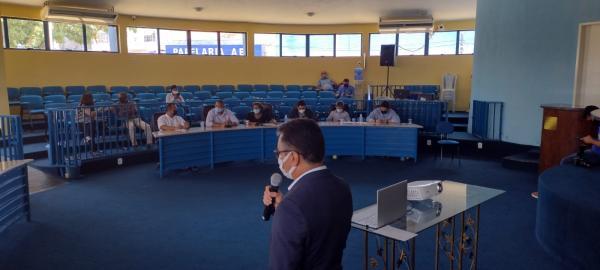 Audiência pública discute a taxa de esgotamento sanitário em Floriano(Imagem:FlorianoNews)