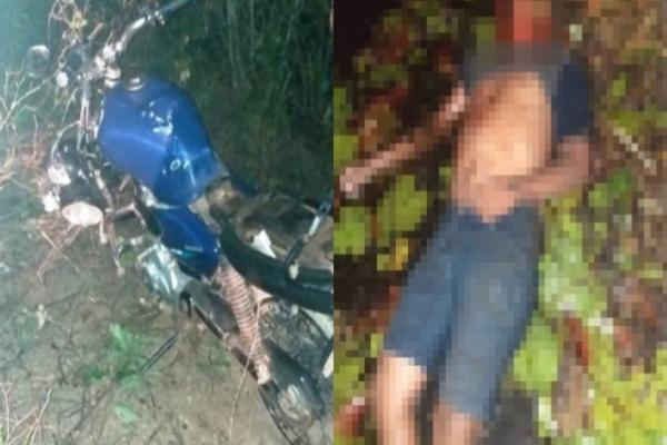 Jovem de 15 anos morre em grave acidente de moto no sul do Piauí(Imagem:Reprodução)