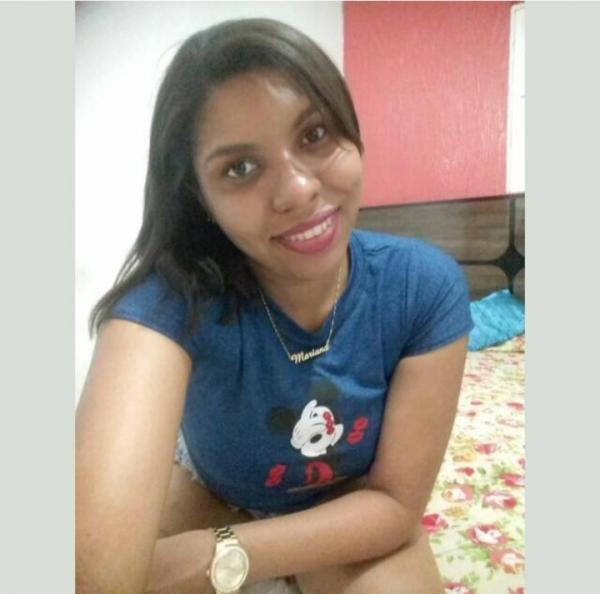 Mariana, vítima de disparos de arma de fogo(Imagem:Reprodução)