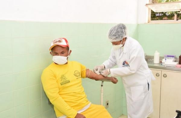 Garis e varredores de Floriano são testados em através do Programa Busca Ativa.(Imagem:Secom)
