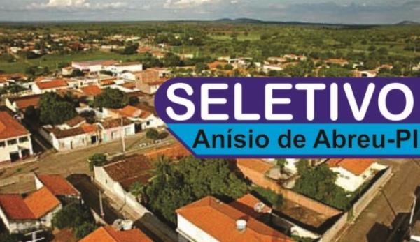 Prefeitura de Anísio de Abreu-PI abre vagas para Nutricionista e Professor(Imagem:Divulgação)