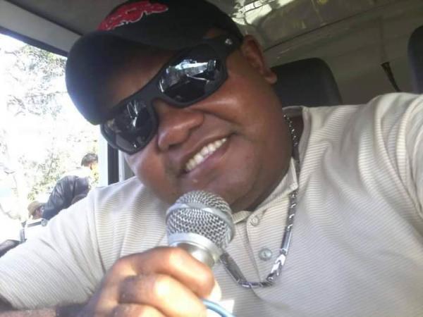Morre em Floriano o comunicador Sérgio Boca(Imagem:Arquivo familiar)