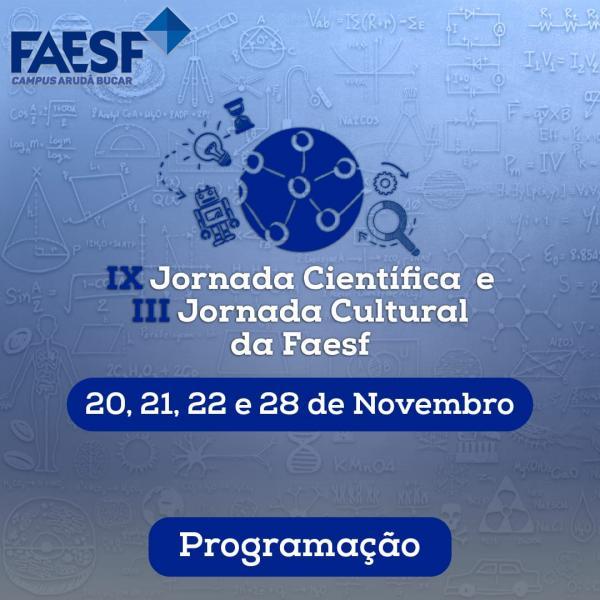 IX Jornada Científica e III Jornada Cultural(Imagem:Divulgação)