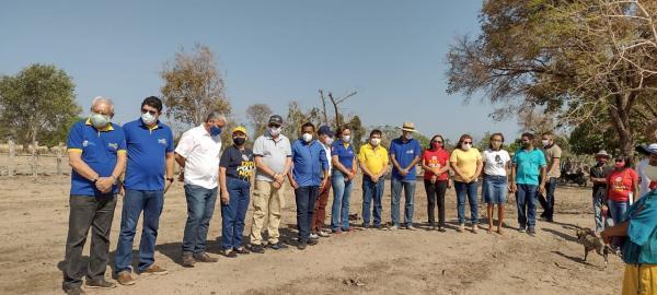 Prefeitura de Floriano e Rotary Club beneficiam comunidades com o Sistema Simplificado de Água(Imagem:FlorianoNews)