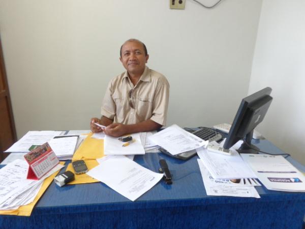 Augusto Sales, Diretor da Agespisa - Regional de Floriano.(Imagem:FlorianoNews)