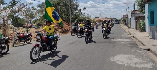 No dia da Independência do Brasil, Bolsonaristas fazem manifestação em Floriano(Imagem:FlorianoNews)