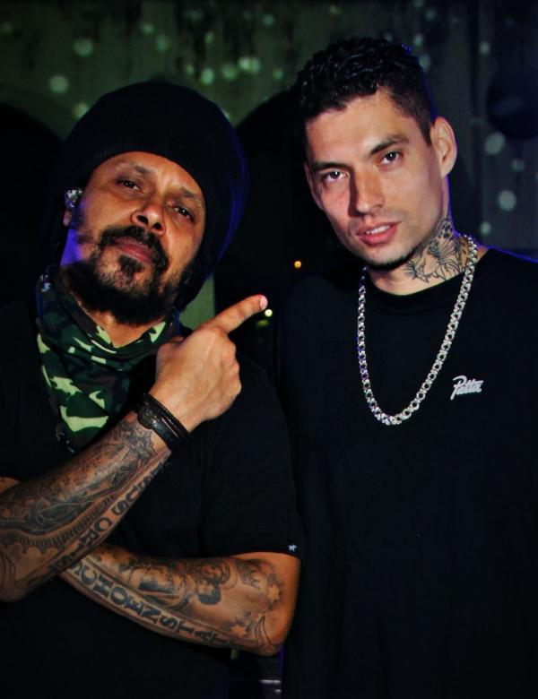 Marcelo Falcão lança single com o rapper Filipe Ret enquanto prepara o segundo álbum solo(Imagem:Divulgação)