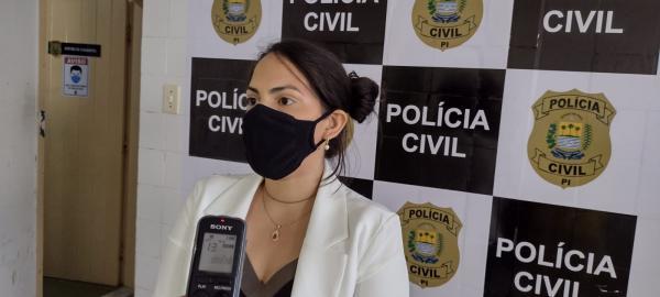 Delegada Amanda Estevam(Imagem:FlorianoNews)